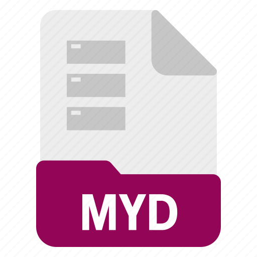 Database, document, file, myd icon - Download on Iconfinder
