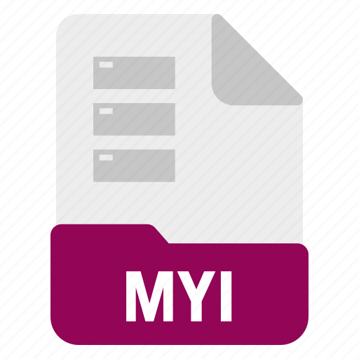 Database, document, file, myi icon - Download on Iconfinder