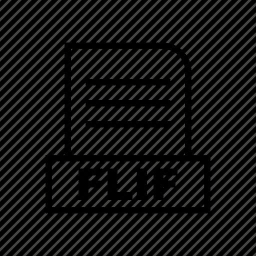 File, flif, document icon - Download on Iconfinder