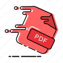 extension, format, paper, file, pdf, document, page