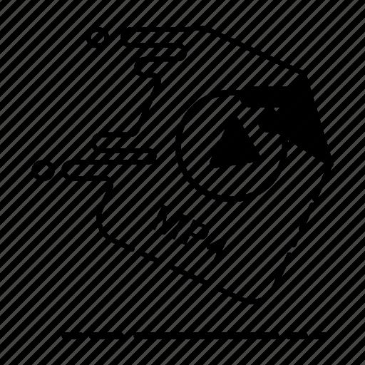 audio, extension, file, format, media, movie, mp4 icon