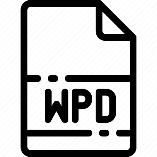 extension, file, format, type, wpd icon