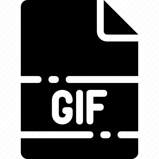 extension, file, format, gif, name, type icon