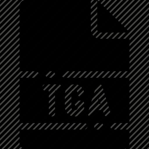 extension, file, format, name, tga, type icon