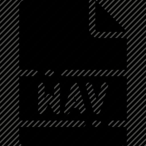 extension, file, format, name, type, wav icon