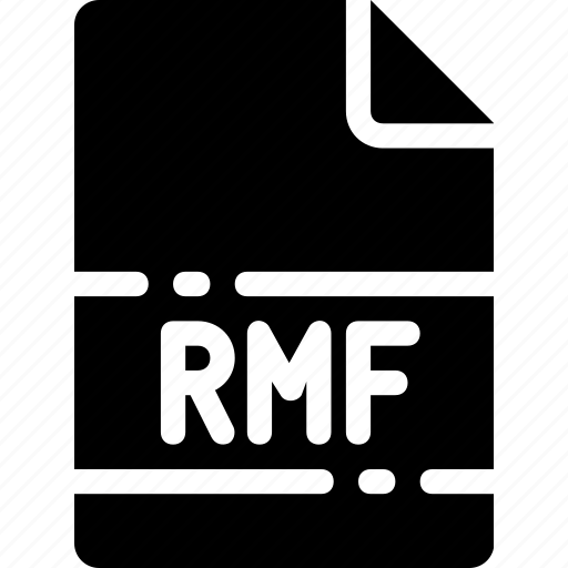 extension, file, format, name, rmf, type icon