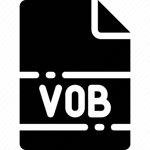 extension, file, format, name, type, vob icon