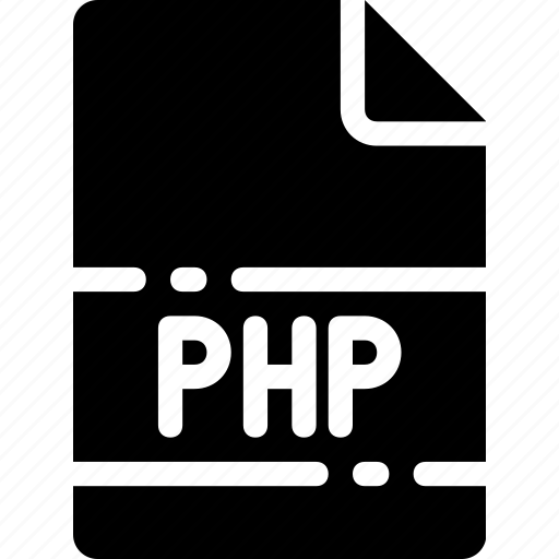 extension, file, format, name, php, type icon