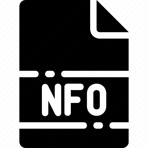extension, file, format, name, nfo, type icon