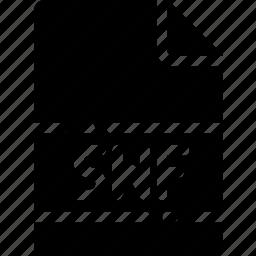 extension, file, format, name, swf, type icon
