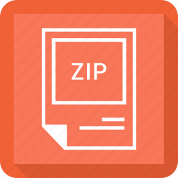 file format, zip icon