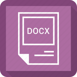 docx, file format icon