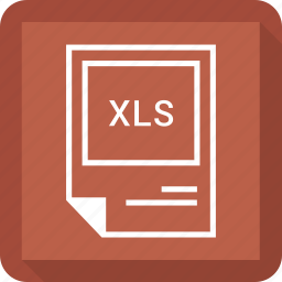 file format, xls icon