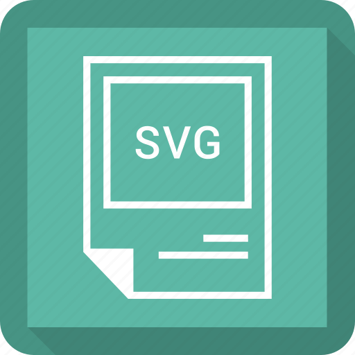 format, svg file icon