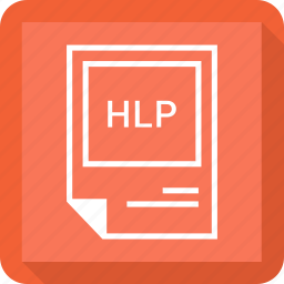 format, hlp icon