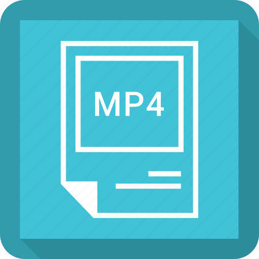 format, mp4 icon