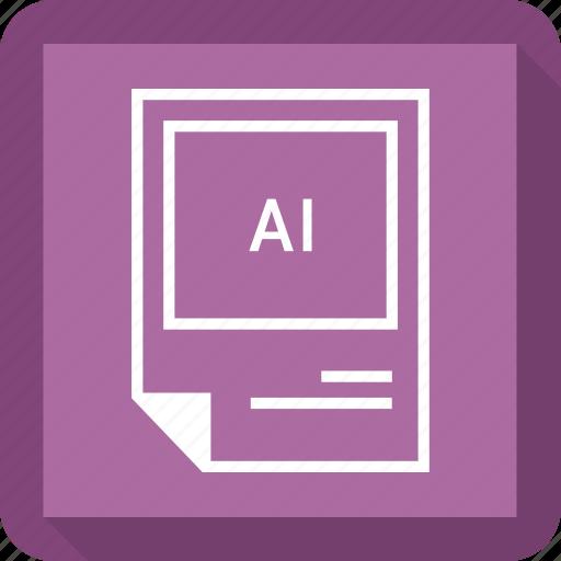 ai file, format icon
