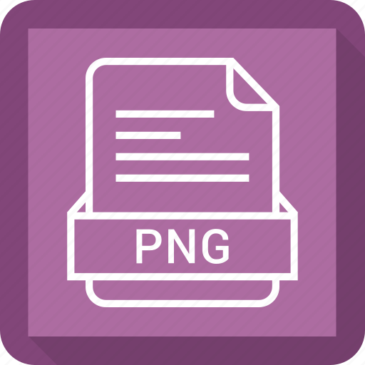 extensiom, file, file format, png file icon