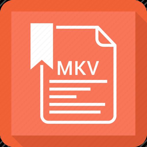 document, file, mkv, tag icon