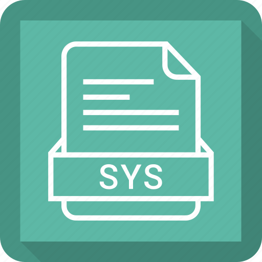 document, extension, file, format, sys file icon