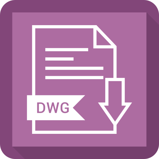 document, dwg, extension, file, system icon