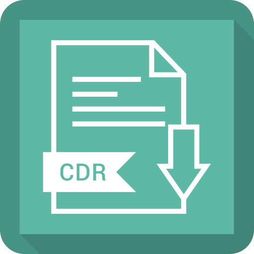 cdr, document, extension, file, system icon
