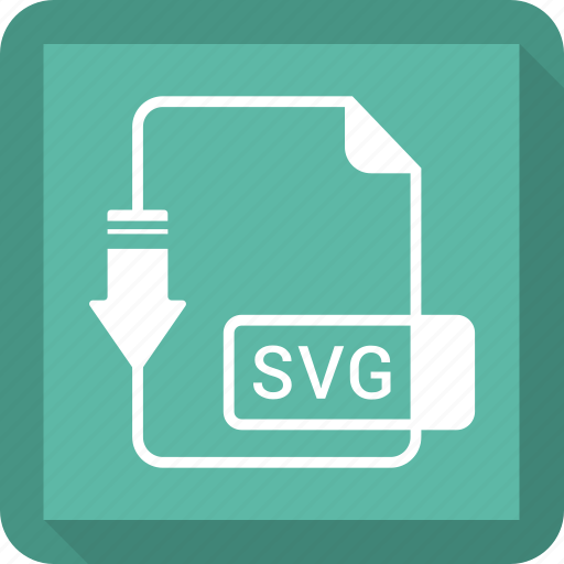 document, file, format, svg file icon
