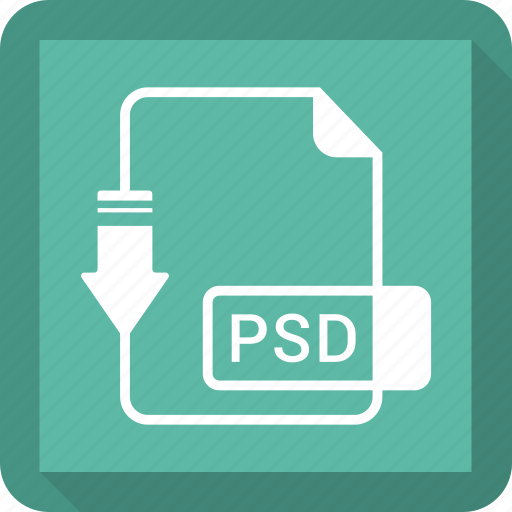 document, file, format, psd icon