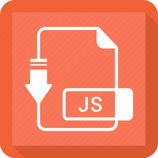 document, extension, file, format, js icon