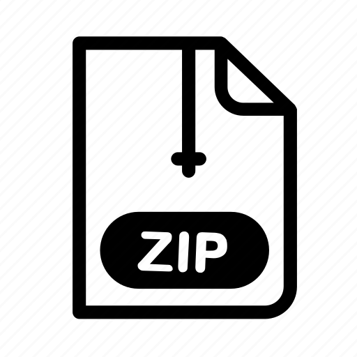 file, format, graphic, serious, zip, zip file icon