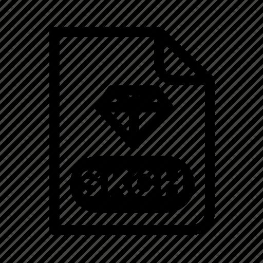 Design, diamond, file, format, program, sketch icon - Download on Iconfinder