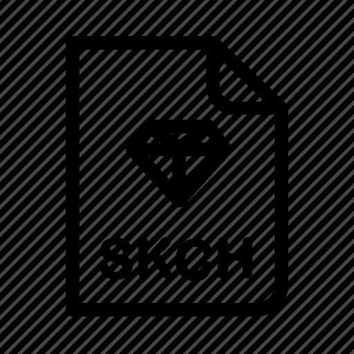 Sketch Diamond Format Program Design File Icon