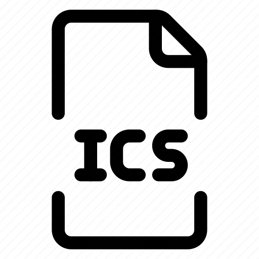 doc, file, format, ics icon
