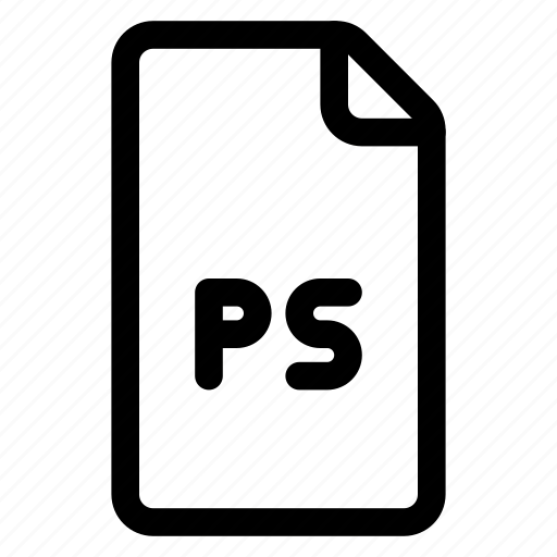 doc, file, format, ps icon