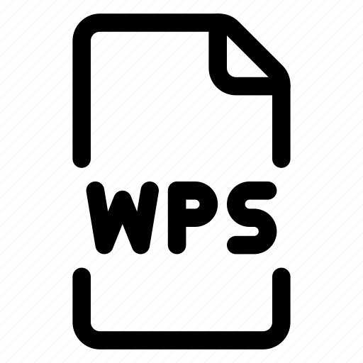 doc, file, format, wps icon