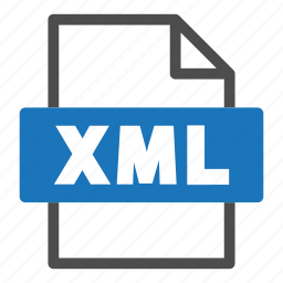document, file, file format, format, interface, xml icon