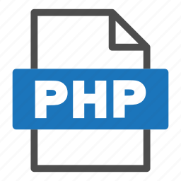 document, file, file format, format, interface, php icon