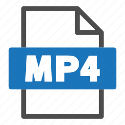 document, file, file format, format, interface, mp4 icon