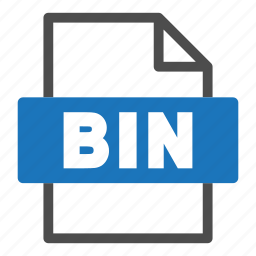 bin, document, file, file format, format, interface icon
