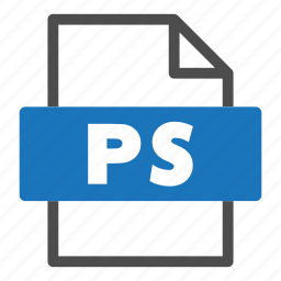 document, file, file format, format, interface, ps icon