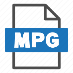 document, file, file format, format, interface, mpg icon