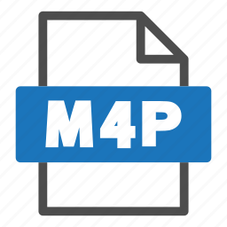 document, file, file format, format, interface, m4p icon