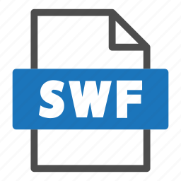 document, file, file format, format, interface, swf icon