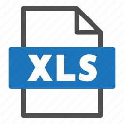 document, file, file format, format, interface, xls icon