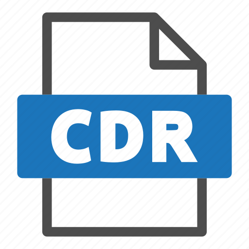 cdr, document, file, file format, format, interface icon