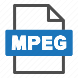 document, file, file format, format, interface, mpeg icon