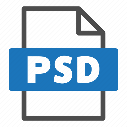 document, file, file format, format, interface, psd icon