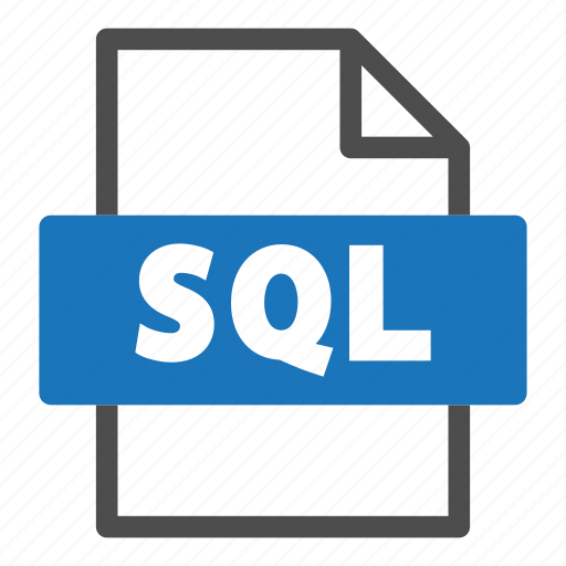 document, file, file format, format, interface, sql icon