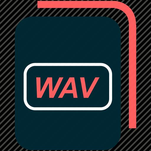 file, format, type, wav icon