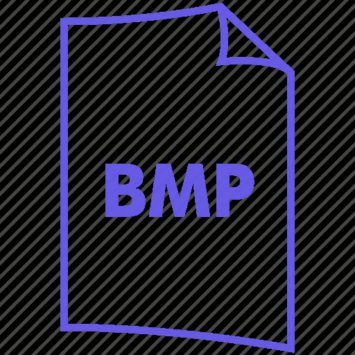bitmap, bmp, file, file format, image format, paint icon